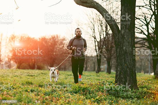 Man jogging with his dog picture id530996250?b=1&k=6&m=530996250&s=612x612&h=ab 16 yyldpgsxyxwqytwk3mify0pniuped msrcmcs=
