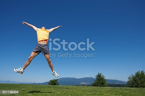 istock Man jumping 521136404