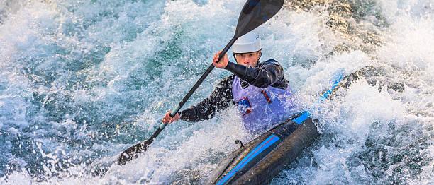 Homme en kayak - Photo