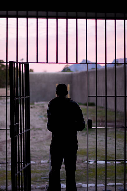Mann, die Gefängnis – Foto