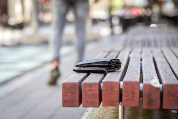 man lost his wallet - lost stock photos and pictures