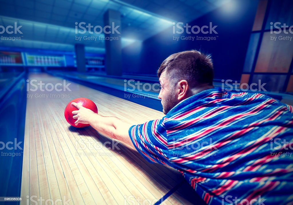 Man lying on the floor royalty-free stock photo