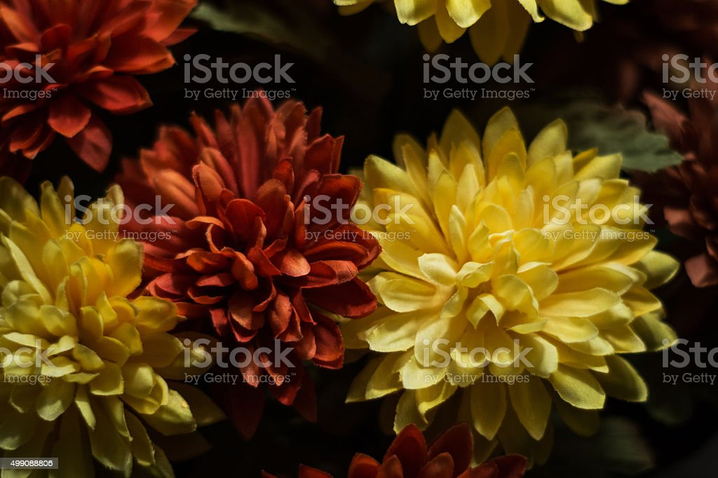 man made flowers royalty-free stock photo