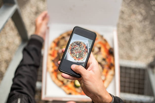 Man makes photo of pizza in box picture id918866452?b=1&k=6&m=918866452&s=612x612&w=0&h=l0i0i7ll01ecz2qxxcz46f6sxa4sot2ew2lcxgg30lw=