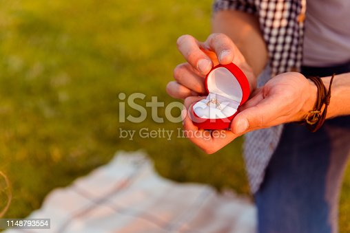 1129577106 istock photo man making a proposal of marriage to his girlfriend 1148793554