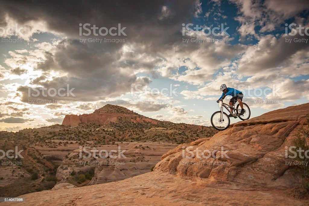 man nature adventure landscape travel stock photo