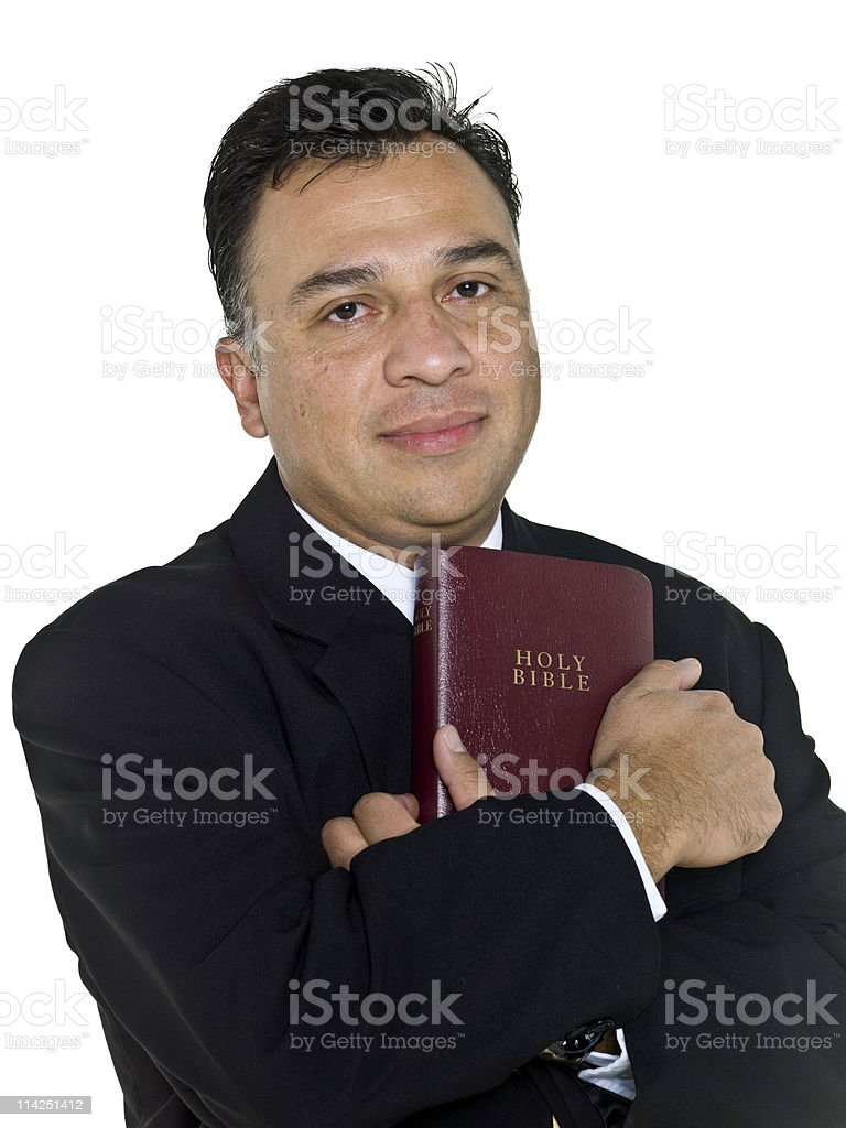 Man of God royalty-free stock photo