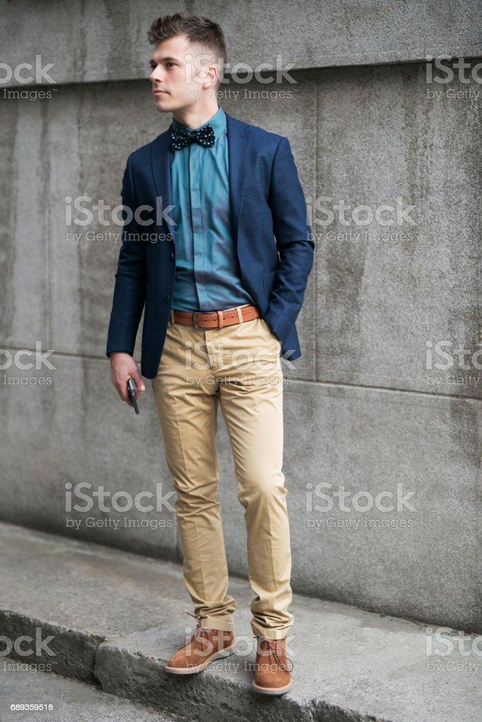Man Of Style stock photo