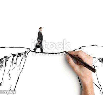 istock man on rock 175946242