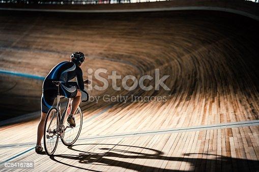 istock Man on sports track 625416788