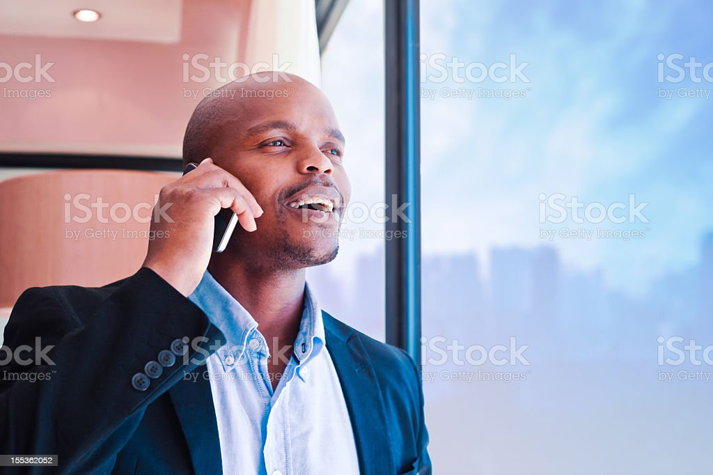 Man on the phone  Adult Stock Photo