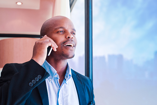 Man On The Phone Stock Photo - Download Image Now