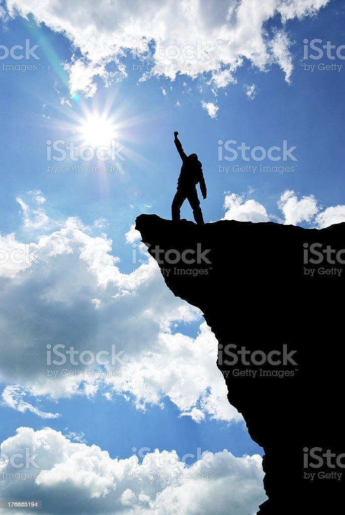 Mann auf top – Foto