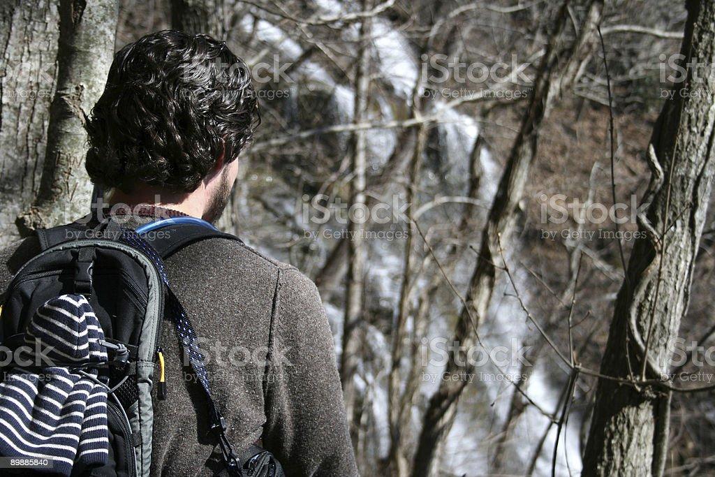 Человек на открытом воздухе Стоковые фото Стоковая фотография