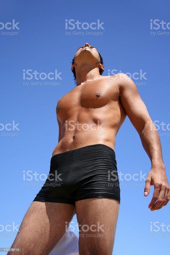 Man Perfection royalty-free stock photo