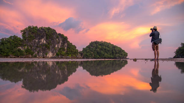 Man photographer and summer landscape of krabi thailand picture id683349638?b=1&k=6&m=683349638&s=612x612&w=0&h=2jxdgv8sbl4ltd jlt5djesaoyut2xplnwaspjkmjw8=
