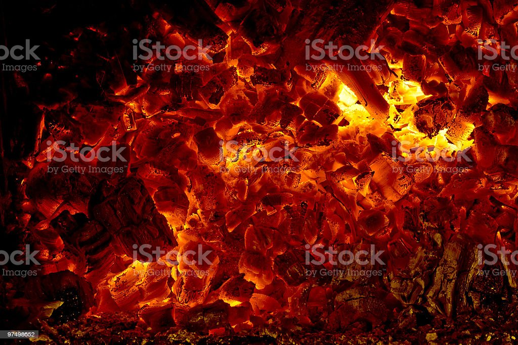 ember royalty-free stock photo