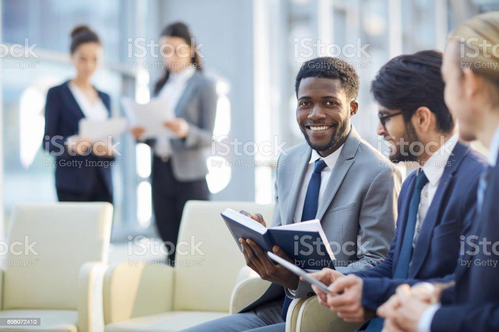 Man planning work Lizenzfreies stock-foto