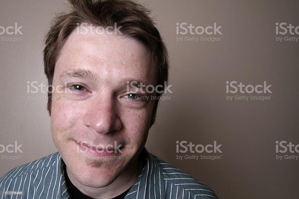 man portrait 2 royalty-free stock photo