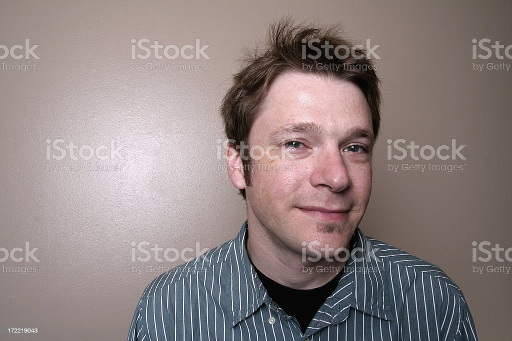 man portrait 3 royalty-free stock photo