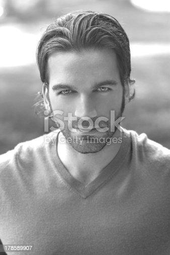 istock Man portrait 178589907