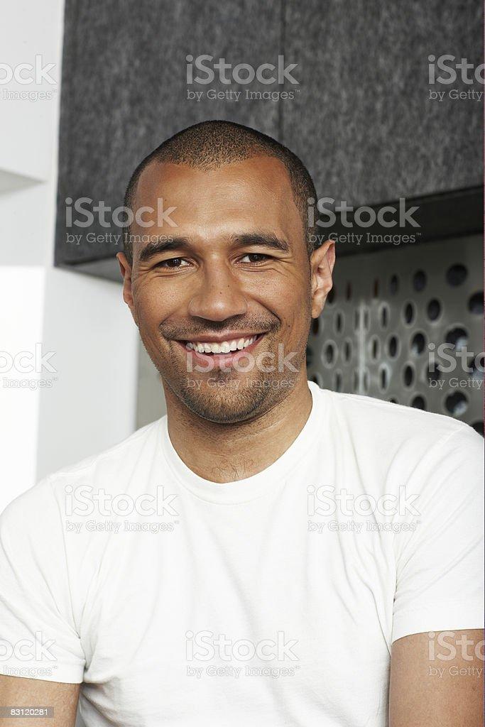 Man, portrait royalty free stockfoto