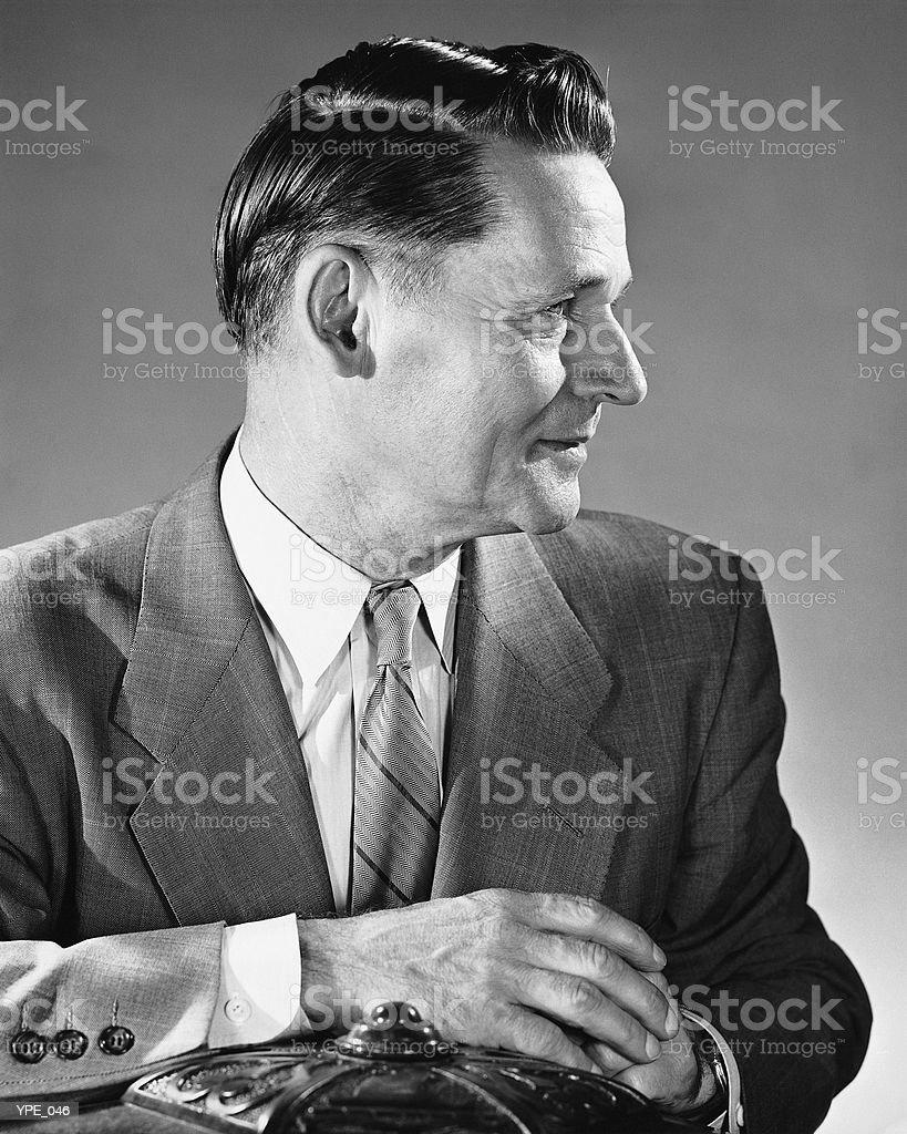 Hombre posando foto de stock libre de derechos