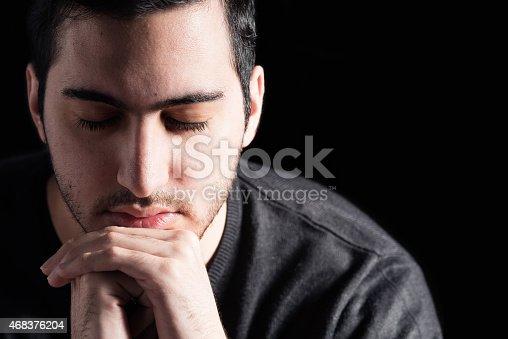 istock Man Praying 468376204