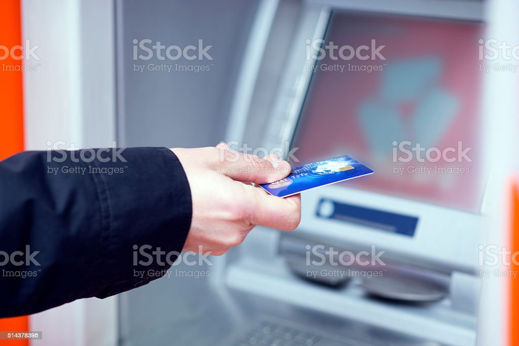男 入れてください。 、クレジットカード ストックフォト