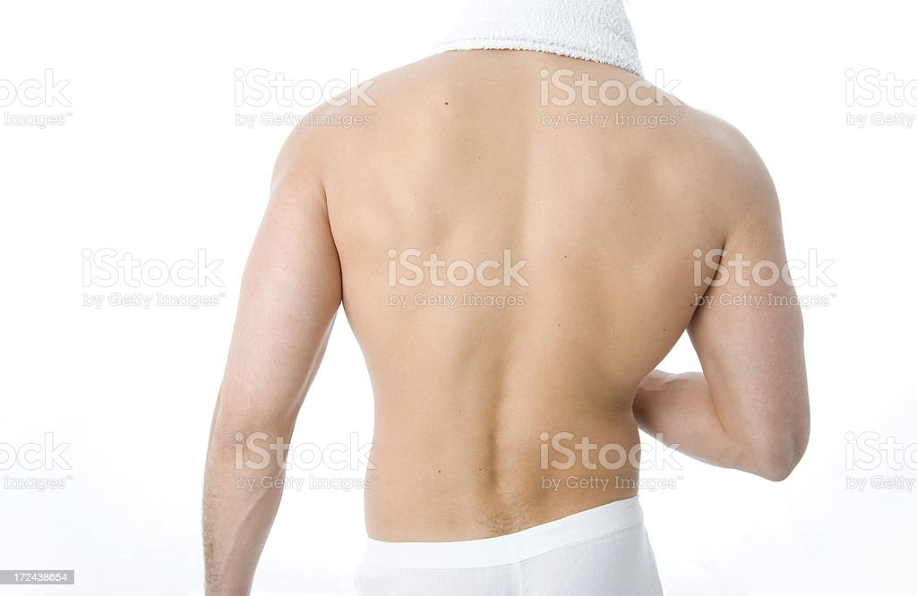 Man Relax royalty-free stock photo