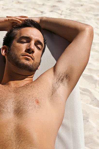 Nude beach hairy Girls in