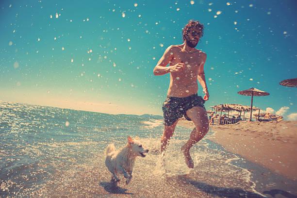 Man running with his dog on the beach picture id490223786?b=1&k=6&m=490223786&s=612x612&w=0&h=mj4aeeumt4rakrrcqugjjnc8whcidwur2xdmoae gyy=