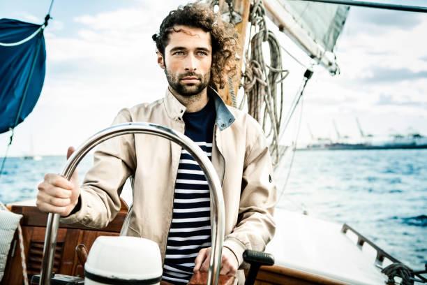 Homme Navigation à voile - Photo
