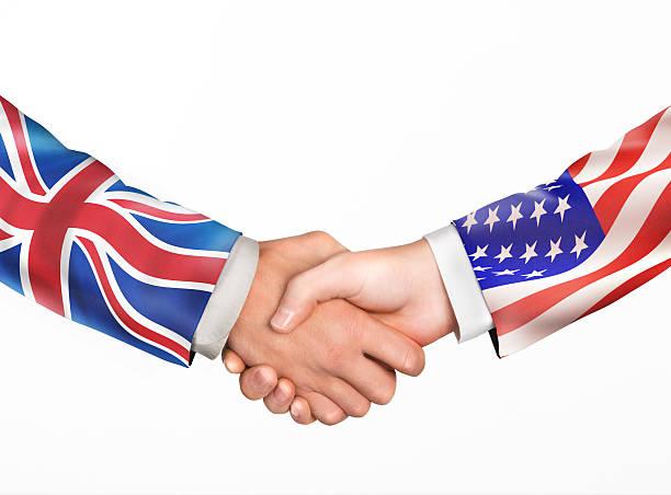 Mann Hände. Freundschaft Ländern – Foto