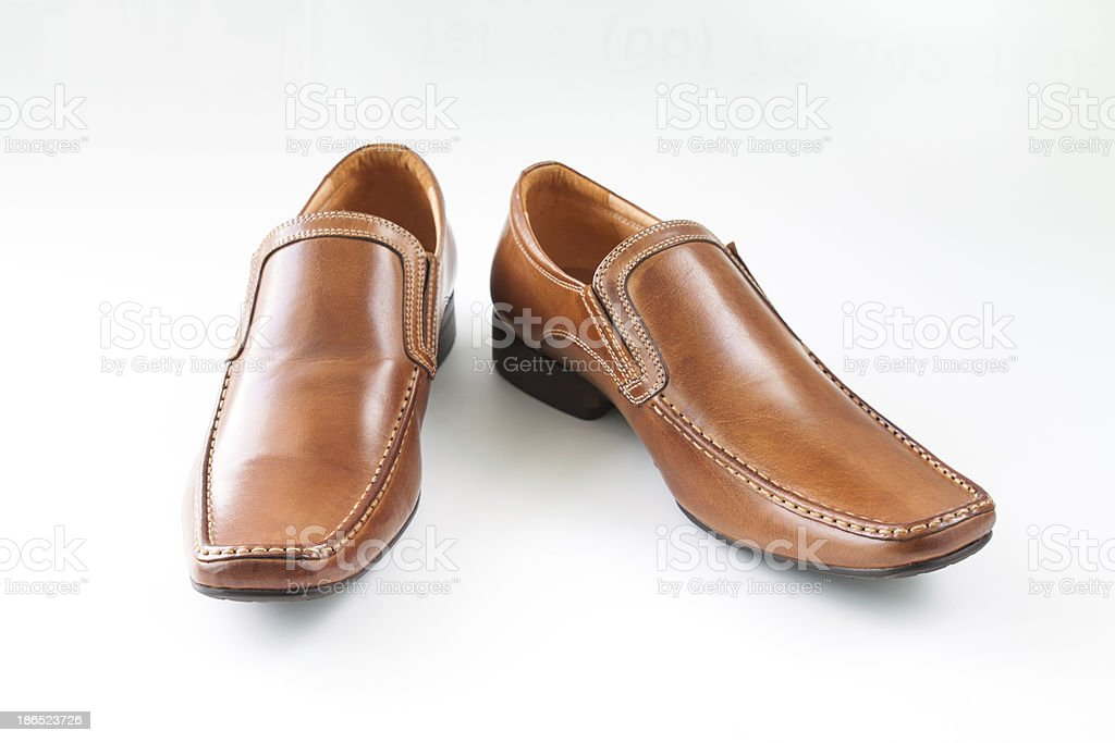 man shoes royalty-free stock photo