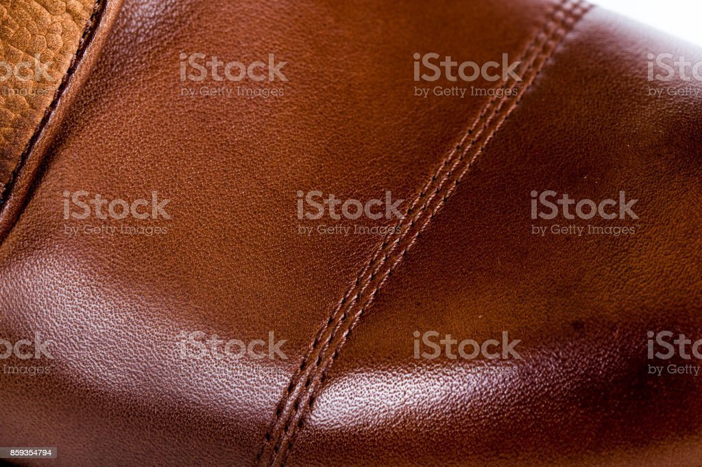 Man shoes stock photo