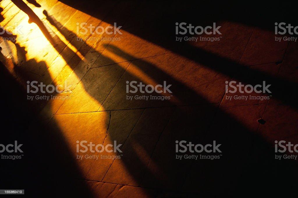 Man Silhouette royalty-free stock photo
