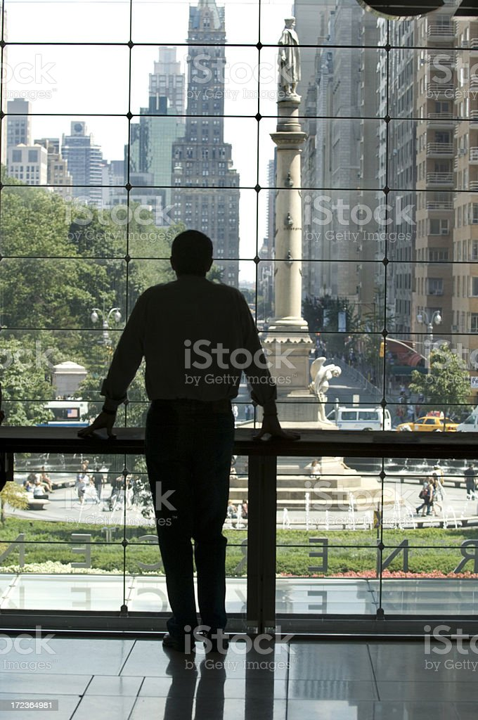 Man Silhouette royalty-free stock photo