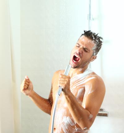 Unter Der Dusche Ist Der Hammer