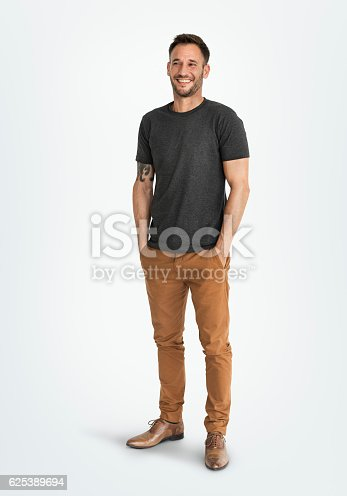 istock Man Smiling Happiness Carefree Emotional Expression Concept 625389694