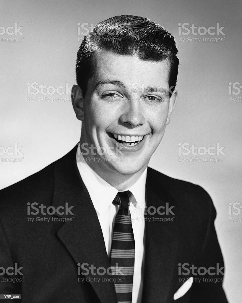Man smiling royalty-free stock photo