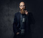 istock A man smoking tradition pipe. 1074555170