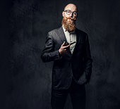 istock A man smoking tradition pipe. 1074574674