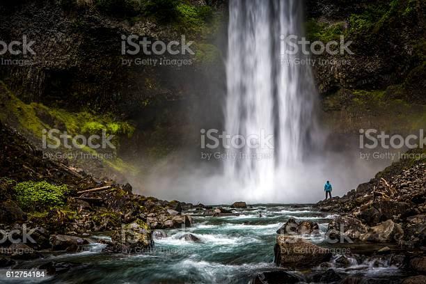 Man standing close to huge waterfall picture id612754184?b=1&k=6&m=612754184&s=612x612&h=pwhbluhto6f1smvrzrghyuhylb2e9kolhr el9mfj6q=