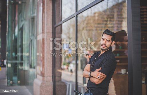 542972720 istock photo Man standing outdoors 844751376