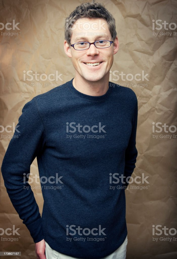 Man Standing stock photo
