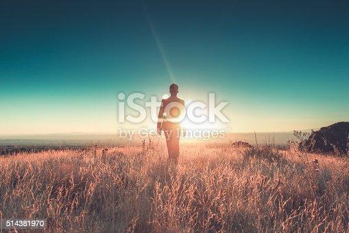 istock man sun business suit nature landscape 514381970