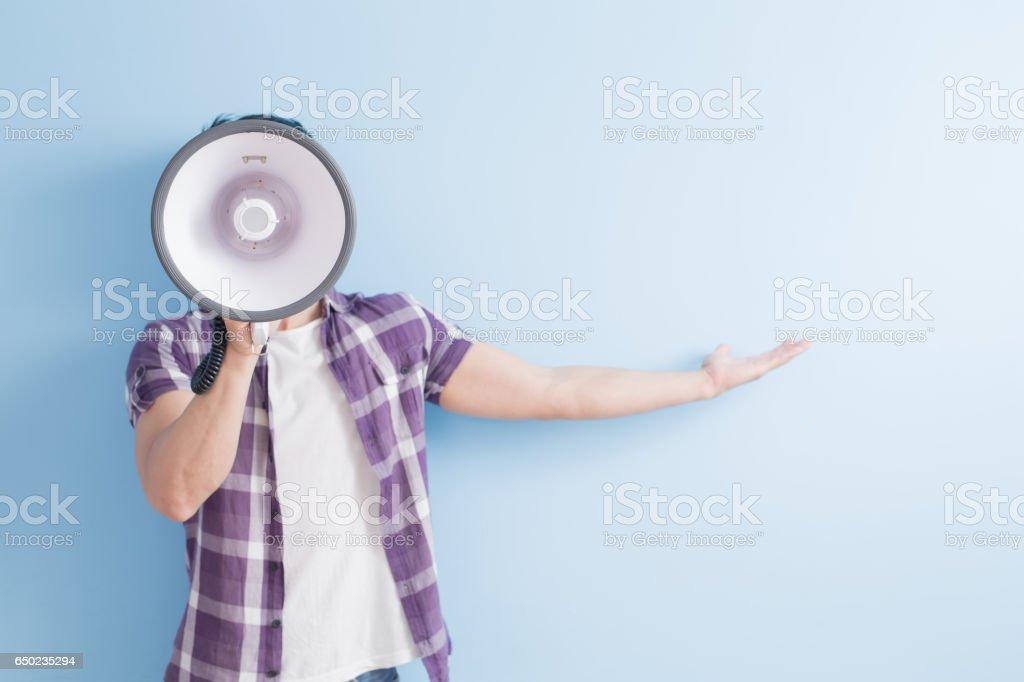 man take microphone - Photo