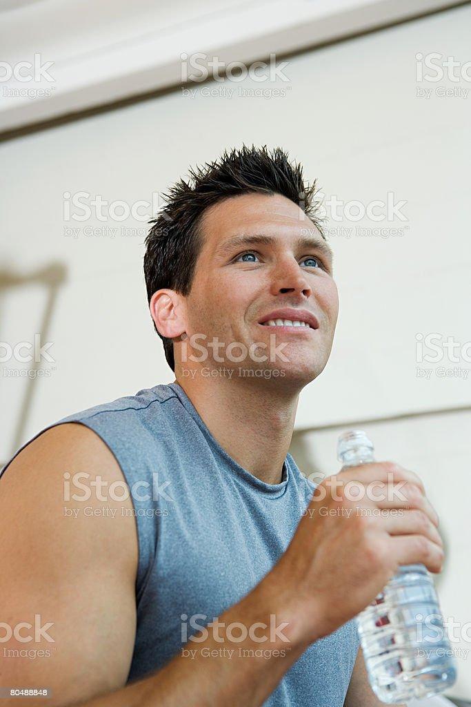 A man taking a break 免版稅 stock photo