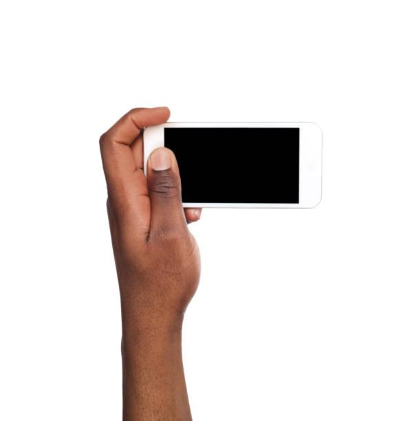 imagen de hombre toma usando el teléfono inteligente - video modelo fotografías e imágenes de stock